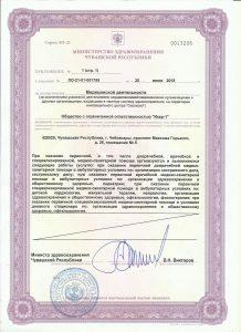 Лицензия ИКАР